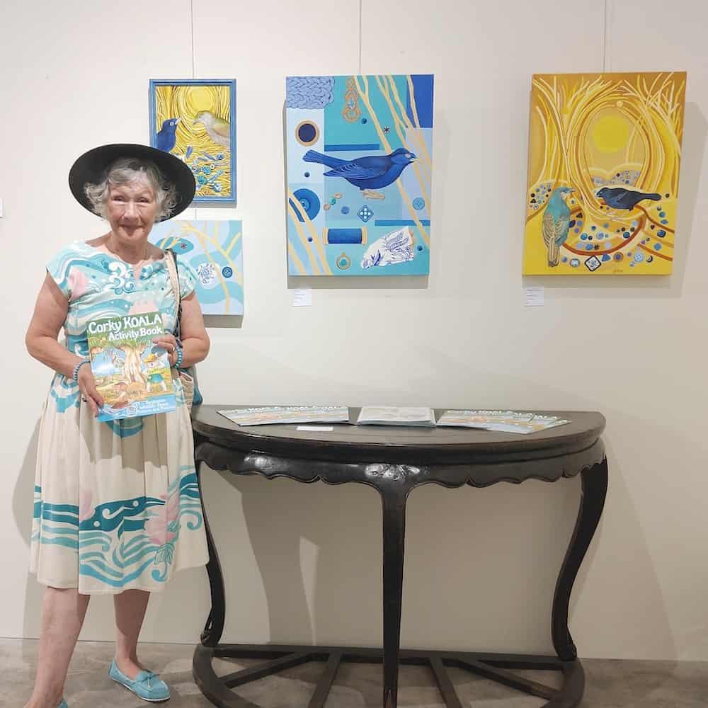 Artist Geraldine Hum