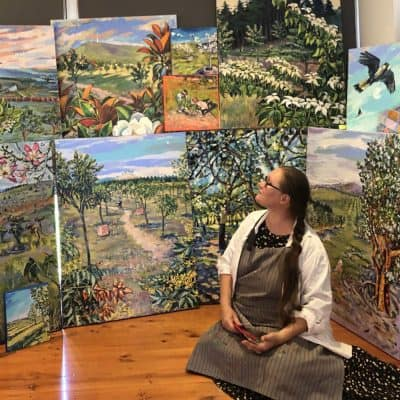 Artist Valentyna Crane