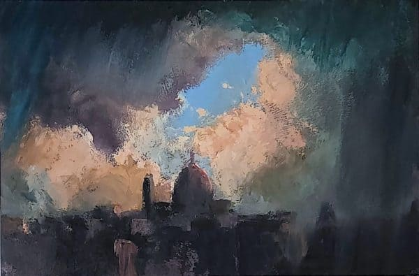 Florence the Deluge by Australian Artist Roger Beale AO