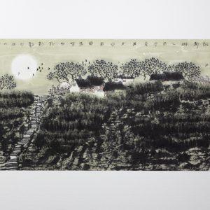 Hometown moon is brightest by Li Xinsheng