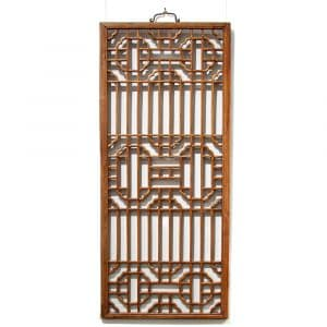 Fine lattice window panel
