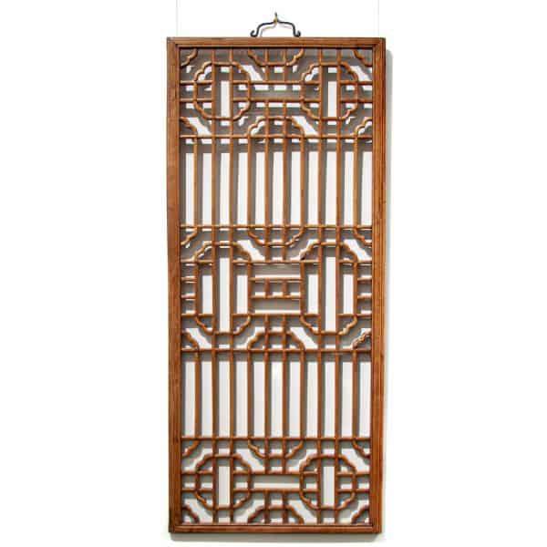 Fine lattice window panel
