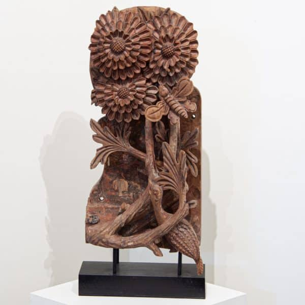 Antique Chinese woodcarving