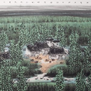 Greening the countrys north by Li Xinsheng