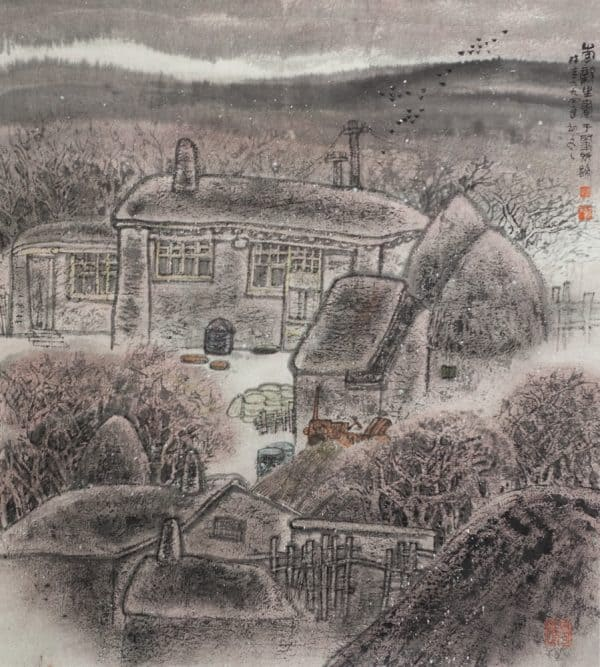 Zao County Winter 1994 by Li Xinsheng