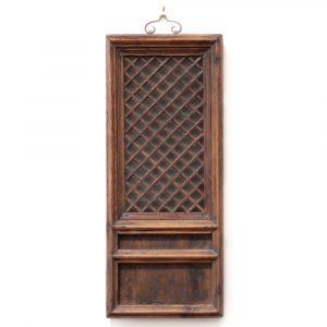 Antique Chinese window panel