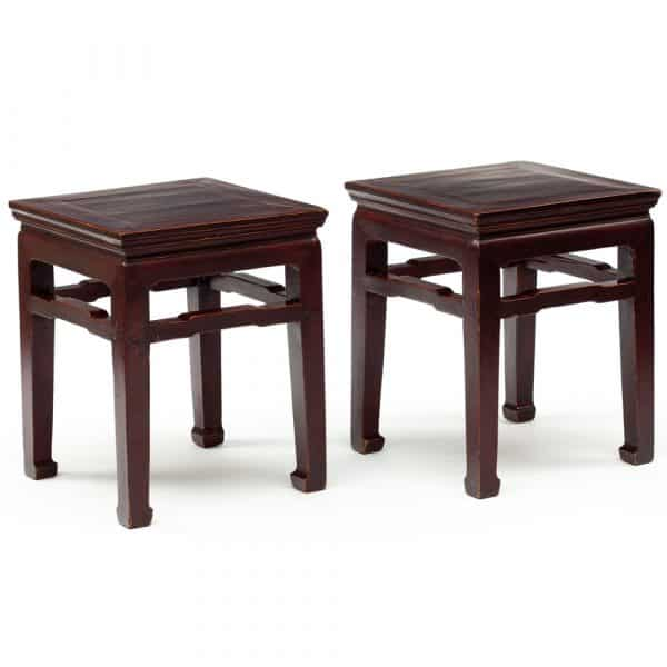 Antique Chinese stools