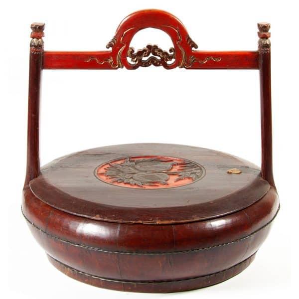 antique fruit basket