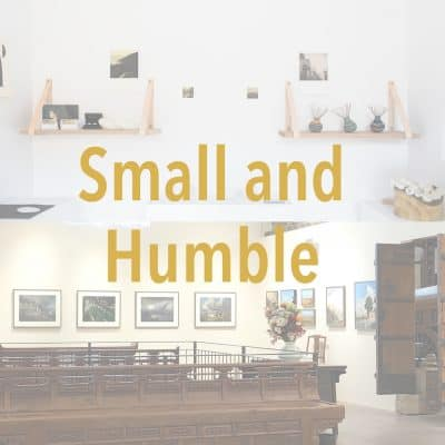 Small and Humble Exhibition, Humble House gallery, Gallery of Small Things