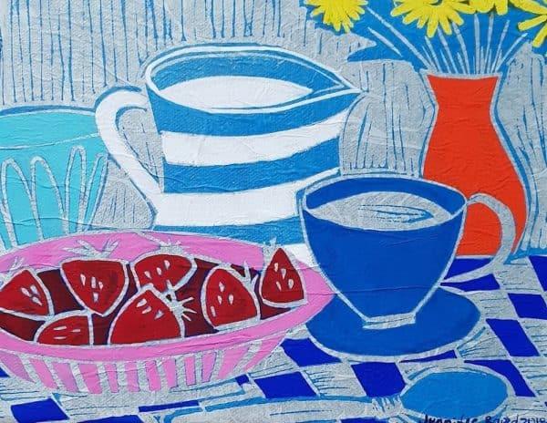 Breakfast by Jennifer Baird, Humble House art