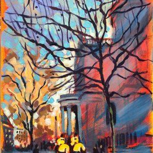 London study II by Valentyna Crane