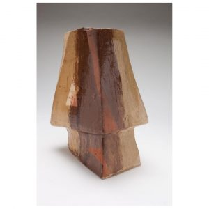 Abstract pot - by Jacqueline Lewis Image credit Andrew Sikorski now at Humble House gallery, Fyshwick Art Gallery