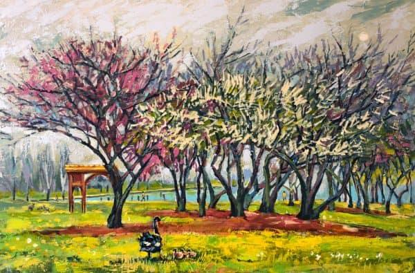 Sense of Spring by Valentyna Crane