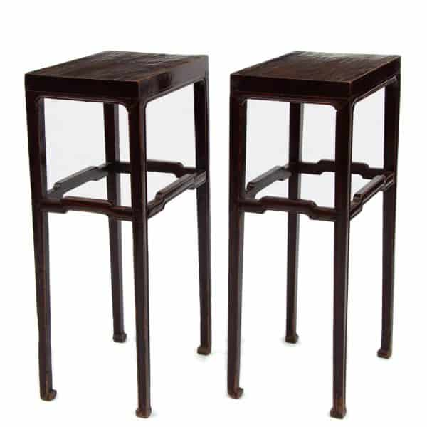 Rectangular plant stands