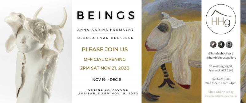 Beings - Official Opening - Deborah Van Heekeren and Anna-Karina Hermkens