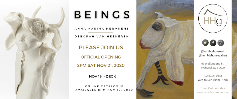 Beings - Official Opening - Deborah Van Heekeren and Anna-Karina Hermkens