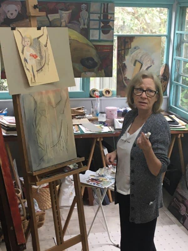 In my studio by Deborah Van Heekeren