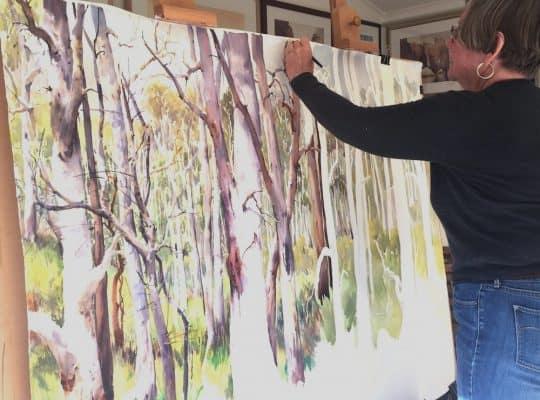 Artist Julie Simmons