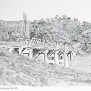 Tharwa Bridge by Grahame Crocket