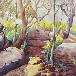 The Bush Track by Julie Simmons