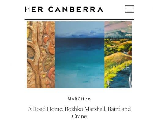 HerCanberra, A Road Home Exhibition