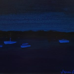 Batemans Bay at Night by Jennifer Baird