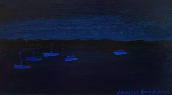 Batemans Bay at Night by Jennifer Baird