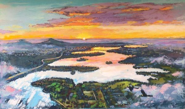 Dreams of the City 2 by Valentyna Crane