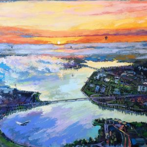 Dreams of the City 3 by Valentyna Crane