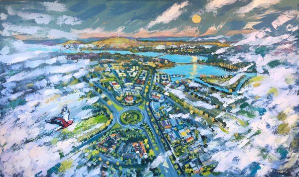 Dreams of the City 5 by Valentyna Crane