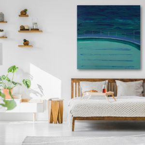 Bronte Ocean Baths by Jennifer Baird_bedroom