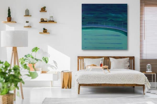 Bronte Ocean Baths by Jennifer Baird_bedroom