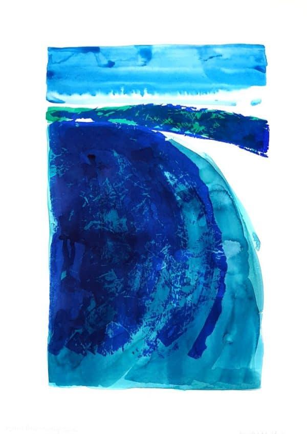 Hyam Beach Looking South by Jennifer Baird