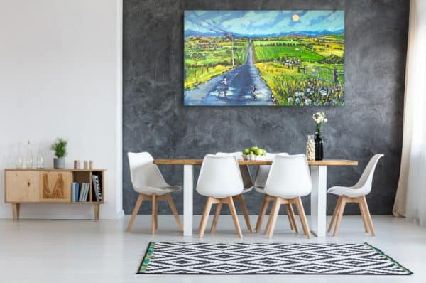 Road Home 2 by Valentyna Crane insitu