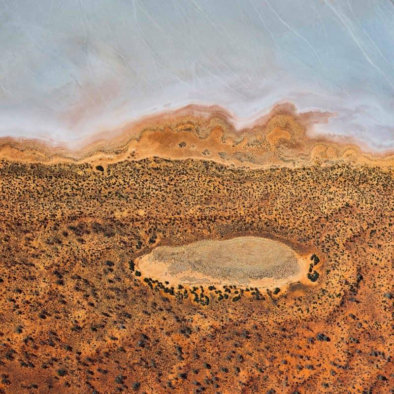 Jupiter: Lake Amadeus NT by Andrew Vukosav